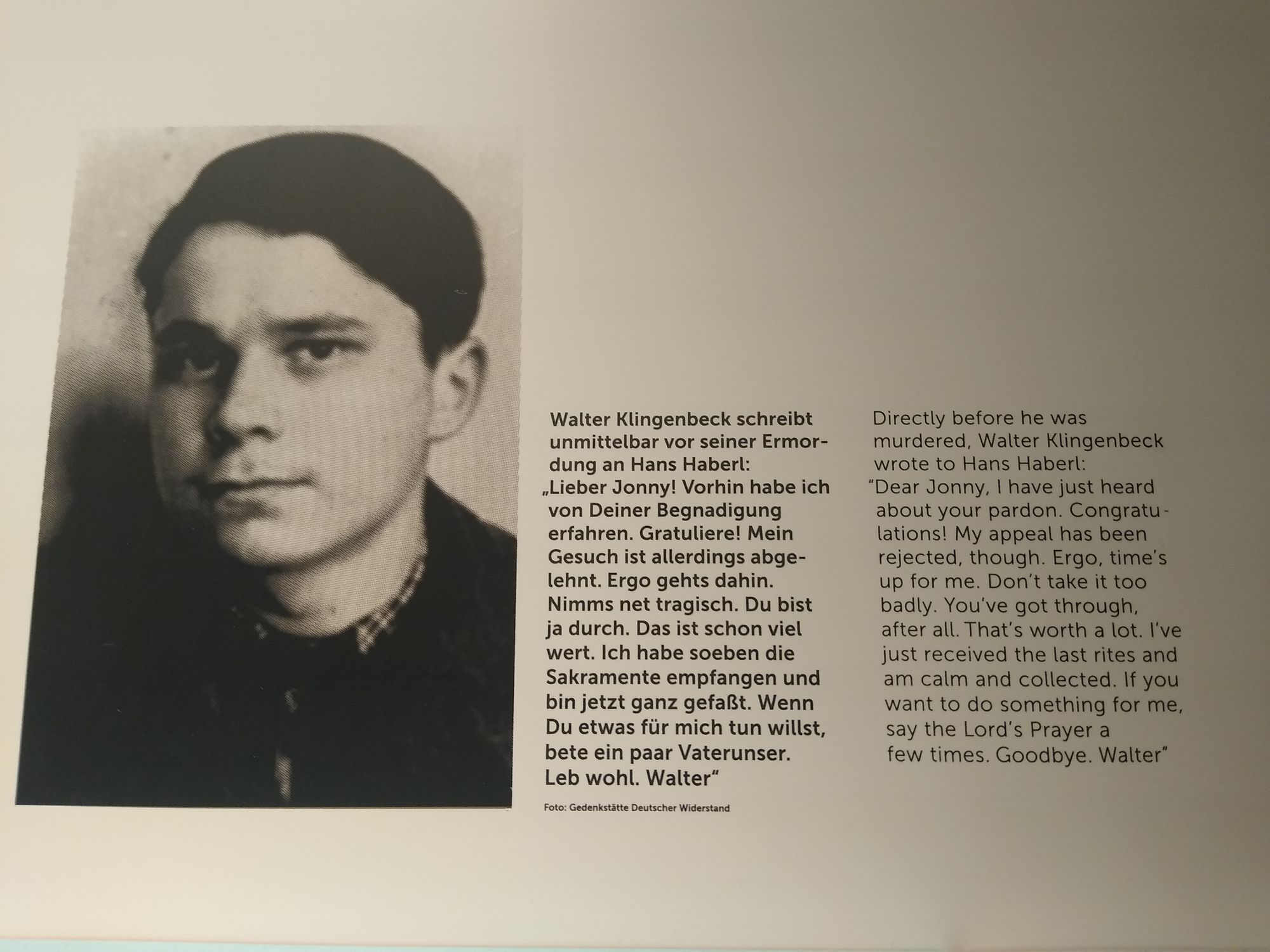 A teenager murdered by the Nazis