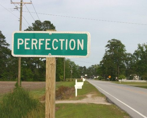 The importance of avoiding perfectionism