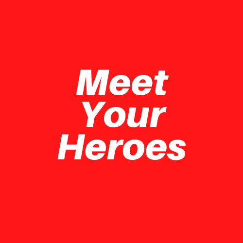 Day 10 of collecting rejections - first Meet Your Heroes talk