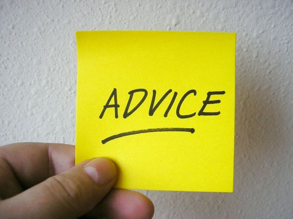 Ask for advice and act on it